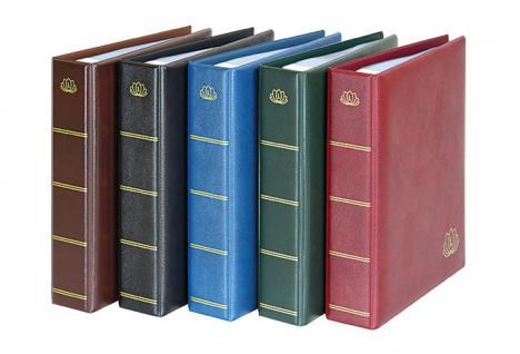 LINDNER 5600 - H ETB Album LOTOS Ringbinder Hellbraun Braun mit 50 Klarsichthüllen 5601 für Ersttagsblätter und DIN A5 Format - Vorschau 2