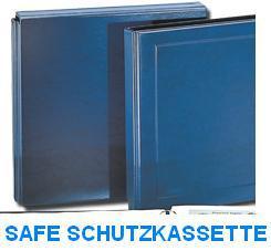 SAFE 6006 Blaue Schutzkassette für die Postkartenalbum Album Ringbinder Yokama Blau 6001 - 6002 - 6005 - Vorschau 1