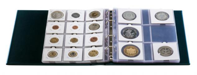 10 Hartberger 8210 Münzblätter 12 Felder Standard Münzrähmchen 50 x 50 mm - Vorschau 2