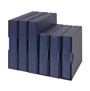 Hartberger 8200-B Münz - Ringbinder Münzalbum Album SUPER Blau (leer) ideal für Münzrähmchen - Vorschau 1