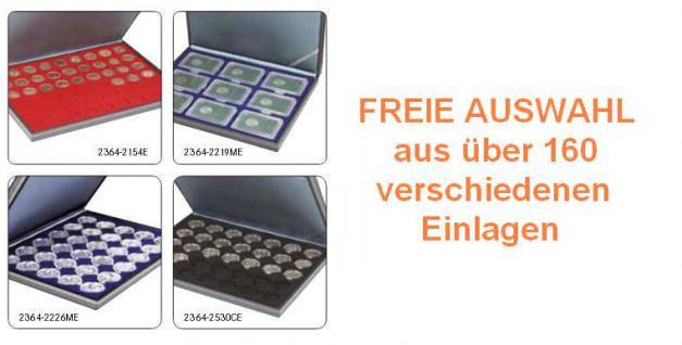 LINDNER 2364 NERA M Münzkassetten Kassetten Sammelkassetten mit Einlage nach FREIER WAHL