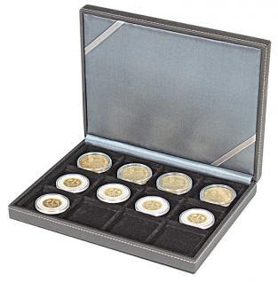 LINDNER 2363-12 Nera XM Münzkassetten Sammel Kassetten mit 12 Fächern für Münzen bis 52 mm & bis Münzkapseln Standard 46 - - Vorschau 5