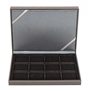 LINDNER 2363-12 Nera XM Münzkassetten Sammel Kassetten mit 12 Fächern für Münzen bis 52 mm & bis Münzkapseln Standard 46 - - Vorschau 3