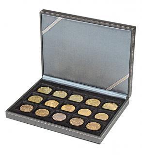 LINDNER 2363-15 Nera XM Münzkassetten Sammel Kassetten mit 15 Feldern für Münzen bis 40 mm & bis Münzkapseln 33 - 34 mm - Vorschau 3