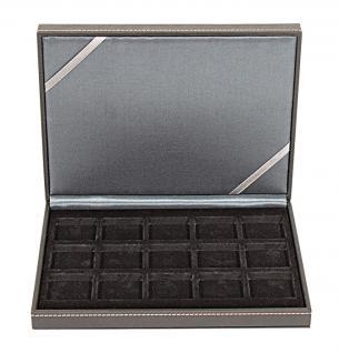 LINDNER 2363-15 Nera XM Münzkassetten Sammel Kassetten mit 15 Feldern für Münzen bis 40 mm & bis Münzkapseln 33 - 34 mm - Vorschau 4