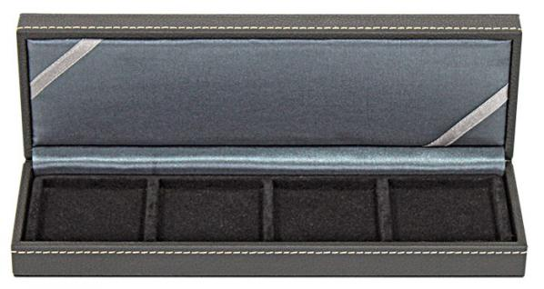 LINDNER 2362-4 Nera S Münzkassetten mit 4 Feldern Münzen bis 52 mm & bis Münzkapseln 46 mm Octo Quadrum Münzkapseln Münzrähmchen - Vorschau 2