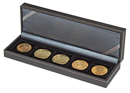 LINDNER 2362-5 Nera S Münzkassetten mit 5 Feldern für Münzen bis 40 mm & bis Münzkapseln 33 - 34 mm - Vorschau 5