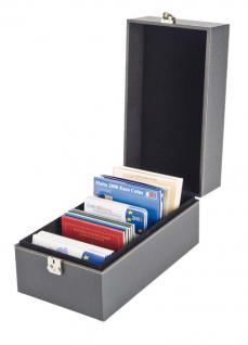 LINDNER 2370 NERA MULTI Sammelkoffer Sammel Koffer Archivierungskoffer CDS DVD Bluerays CD-ROM MINIDisc Karteikarten - Vorschau 1