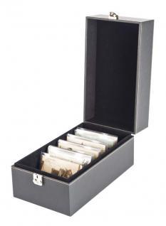 LINDNER 2370 NERA MULTI Sammelkoffer Münzkoffer Sammel Koffer EURO DM Münzen Münzblister KMS Etuis Kursmünzensätze Folder - Vorschau 3