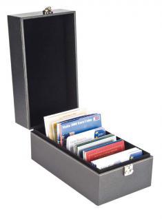 LINDNER 2370 NERA MULTI Sammelkoffer Sammel Koffer Archivierungskoffer CDS DVD Bluerays CD-ROM MINIDisc Karteikarten - Vorschau 5
