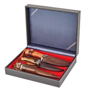 LINDNER 2368-2401E NERA VARIUS Sammelkassetten Hellrot Rot ohne Facheinteilung Für Militaria Schmuck Mineralien Fossilien