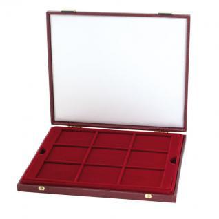 LINDNER 2040 Luxus Kassetten mit 3 Tableaus 27 x 10 DM Deutschland PP eingeschweisst im Blister - Vorschau 2