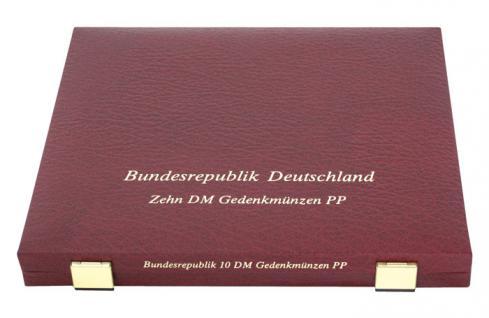 LINDNER 2040 Luxus Kassetten mit 3 Tableaus 27 x 10 DM Deutschland PP eingeschweisst im Blister - Vorschau 3