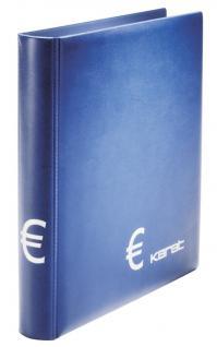LINDNER 1107-B KARAT Münzalbum EURO CLASSIC ( leer ) Platz für 10 Münzklätter K3 K4 K8 zum selbst befüllen