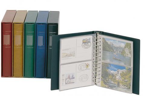 LINDNER 810CY - G Schutz-Kassette Grün für Album 1103MY 1103Y Penny - 1103E ETB -1103K Postkarten - Vorschau 4