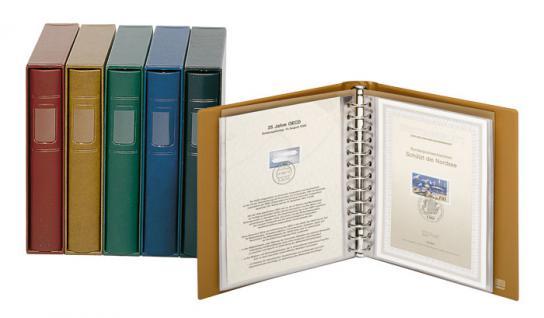 LINDNER 810CY - G Schutz-Kassette Grün für Album 1103MY 1103Y Penny - 1103E ETB -1103K Postkarten - Vorschau 5