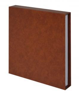 LINDNER 810CY-H Schutzkassette Hellbraun - Braun für Album 1103MY 1103Y Penny - 1103E ETB -1103K Postkarten
