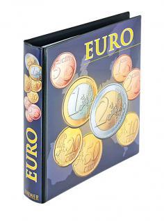 LINDNER 1608R KARAT Münzalbum Vordruckalbum Euro Münzen ( leer ) Kursmünzensätze KMS