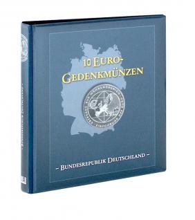 LINDNER 1117-B Münzalbum 10 Euro Münzen Gedenkmünzen Deutschland (leer) zum selbst befüllen
