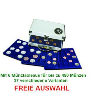 SAFE 176 SP ALU Münzkoffer mit bis zu 6 Tableaus 27 verschiedene Modelle FREIE AUSWAHL - Vorschau 1