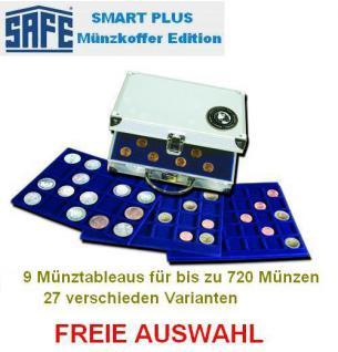 SAFE 176 SP PLUS ALU Münzkoffer mit bis zu 9 Tableaus 29 verschiedene Modelle FREIE AUSWAHL