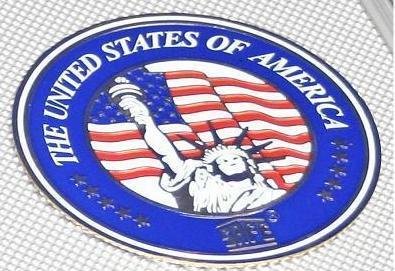 SAFE 230 - 6337 STANDARD ALU Münzkoffer USA 6 Tableaus 120 runde Fächer 37, 5 mm & Münzkapseln 31 - 32, 5 US Half Dollar in Münzkaps - Vorschau 2