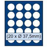 SAFE 230 - 6337 STANDARD ALU Münzkoffer USA 6 Tableaus 120 runde Fächer 37, 5 mm & Münzkapseln 31 - 32, 5 US Half Dollar in Münzkaps - Vorschau 3
