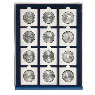 SAFE 230 - 6350 PLUS ALU Münzkoffer SMART USA 9 Tableaus 108 Fächer 50 mm Münzrähmchen Quadrum Octo Münzkapseln - Vorschau 3
