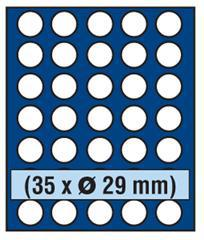 SAFE 231 - 6329 PLUS ALU Münzkoffer Frankreich SMART 9 Tableaus 315 Fächer 29, 5 mm für 10 Euro Frankreich der Regionen 2010 -2012 - Vorschau 3
