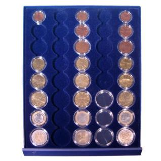 SAFE 232 - 6339 STANDARD ALU Münzkoffer SMART Italien 6 Tableaus 30 komplette EURO Kursmünzensätze KMS 1 Cent - 2 € in Münzkapseln - Vorschau 3