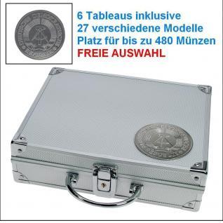 SAFE 234 STANDARD ALU Münzkoffer SMART DDR Deutsche Demokratische Republik 6 Tableaus 27 Modelle verfügbar FREIE AUSWAHL