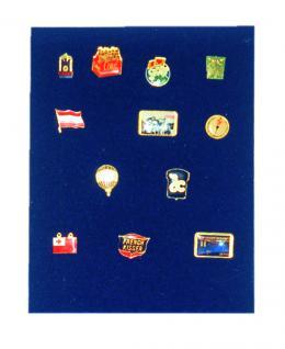 1 x SAFE 6360 SP Tableaus Einsätze SMART ohne Facheinteilung Pins Button Militaria Orden Schmuck Broschen Anstecknadeln