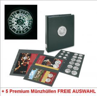 Safe 7340/8 Plus Premium Euro MÜnzalbum Österreich 5 Euro Münzen + 5 Ergänzungshüllen Freie Wahl - Vorschau 1