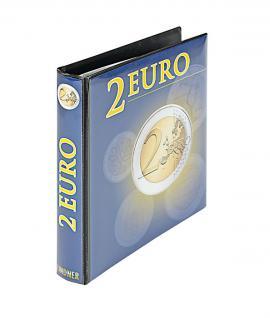 LINDNER 1118R 2 Euro Münzalbum Vordruckalbum Gedenkmünzen Alle Euro - Länder (leer)
