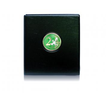SAFE 7362 PREMIUM MAXI 2 EUROMÜNZEN MÜNZALBUM extra Breit (leer) für bis zu 20 Münzblätter mit Vordrucken für 2 Euro Gedenkmünzen - Vorschau 2