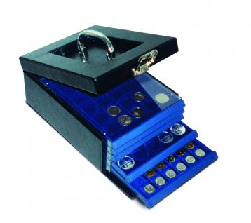 SAFE 6310 Nova Münzkoffer Münzboxkoffer STANDARD (leer) für 8 x Münzboxen - Schubladenelemente
