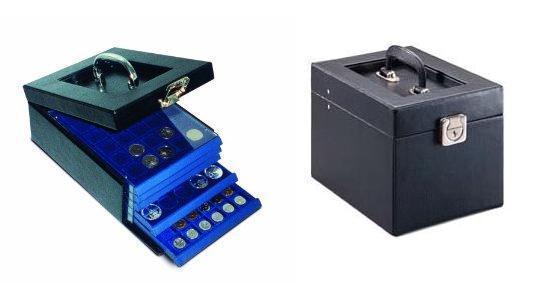 SAFE 6320 Nova Münzkoffer Münzboxkoffer STANDARD (leer) für 5 x Münzboxen - Schubladenelemente