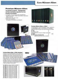 2 x SAFE 7395 Premium Münzhüllen Ergänzungsblätter für 5 Euro Kursmünzensätze 1 Cent - 2 Euro Münzen + schwarzem ZWL - Vorschau 3