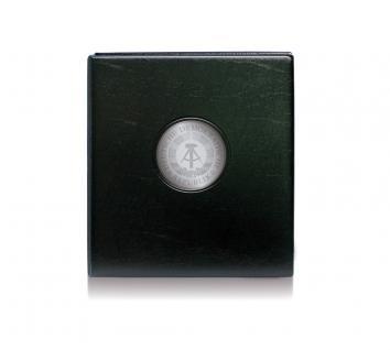 SAFE 7411 PREMIUM MÜNZALBUM DDR 10 Mark Gedenkmünzen farbiges Vordruckalbum + 4x Münzhüllen 7292 + 4 Vordruckblätter 10 Mark
