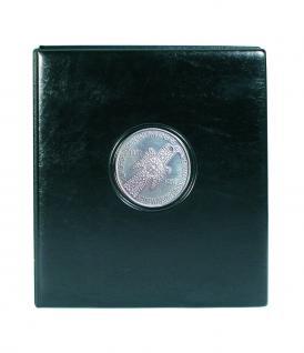 SAFE 7347 PREMIUM MÜNZALBUM Deutschland 5 DM Mark Gedenkmünzen farbiges Vordruckalbum + 4x Münzhüllen 7292 + 4x Vordruckblätter 1953 - 1986
