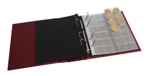 LINDNER 1302 - G Set Grüner MULTI COLLECT Ringbinder Regular Album + Kassette für Banknoten & Briefmarken & Münzen - Vorschau 3