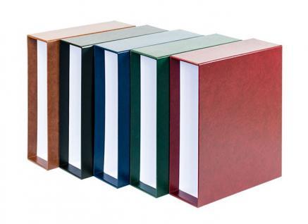 LINDNER 1301-W Weinrot - Rote Kassette Schutzkassette für MULTI COLLECT Ringbinder Regular Album 1300 Briefmarken - Münzen