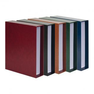 LINDNER 3506BN - W - Weinrot Rot Publica L Ringbinder Album Banknotenalbum + 20 Hüllen 8812 - 2 Taschen / 8813 - 3 Taschen Mixed Für Banknoten - Vorschau 4