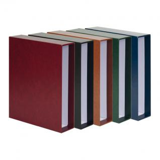 LINDNER 3531-W Weinrot Rot Schutzkassette Kassette Schuber für PUBLICA M Ringbinder 3530