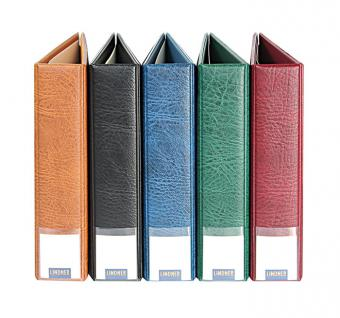 LINDNER 3531 - B Blaue Schutzkassette Kassette Schuber für PUBLICA M Ringbinder 3530 - Vorschau 3