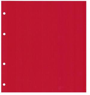 5 x LINDNER MU54R Multi Collect Münzblätter Münzhüllen 54 Taschen für Münzen bis 27 x 27 mm + roten ZWL - Vorschau 3