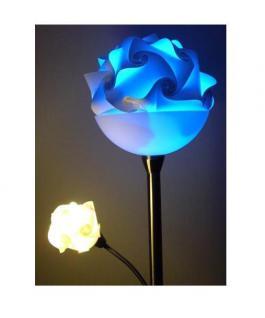 """Design Puzzle Lampen """" L """" Lampada Romantica Hängelampe Leuchte Retro - 3D Vintage Style für Innen - Aussenbereich Grösse 34 cm - Vorschau 3"""