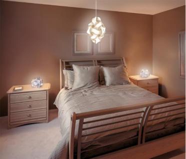 """Design Puzzle Lampen """" L """" Lampada Romantica Hängelampe Leuchte Retro - 3D Vintage Style für Innen - Aussenbereich Grösse 34 cm - Vorschau 4"""