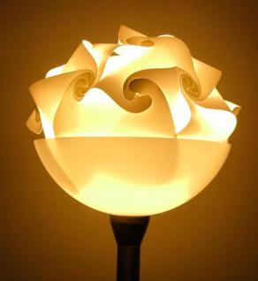 """Design Puzzle Lampen """" L """" Lampada Romantica Hängelampe Leuchte Retro - 3D Vintage Style für Innen - Aussenbereich Grösse 34 cm - Vorschau 5"""