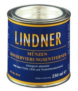 LINDNER 8114 Münzen - Münzen - Konservierungsentferner 250 ml Dose - Vorschau 1